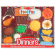 Melissa & Doug Food Fun Combine & Dine Dinners - Red, One Size