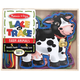 Melissa & Doug Lace and Trace Farm Animals, One Size