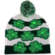 St. Patrick's Day Lighted Knit Hat, One Size