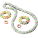 Giant Candy Necklace and Bracelets Set, One Size