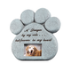 Pet Memorial Stone with Photo Frame, One Size