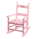 Personalized Pink Children's Rocker, One Size