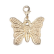 Butterfly Zipper Pull, One Size