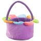 Rainbow Flower Easter Basket, One Size