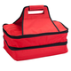 Double Decker Insulated Food Travel Tote, One Size