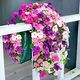 Bag O'Blooms Sun Loving Petunia Saddle Bag, One Size