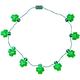 Jumbo Shamrocks Lighted Necklace, One Size