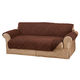 Naomi Suede-Microfiber Loveseat Cover by OakRidge™, One Size