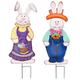 Metal Easter Bunny Boy and Girl by Fox River Creations™, One Size