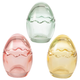 Glass Egg Boxes Set of 3, One Size