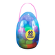 Easter Eggs in Large Plastic Egg, 60-Piece, One Size
