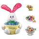 Personalized Blue Easter Basket and Candy, One Size