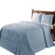 Trevor Chenille 3-Piece Bedding Set, One Size