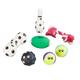 Sports Pet Toys, 7-Piece Set, One Size