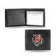 Embroidered NFL Leather Wallet, One Size