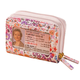 Buxton RFID Floral Accordion Wallet, One Size