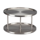 Two Tier Stainless Lazy Susan, One Size