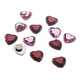 Heart Magnet Set/12, One Size
