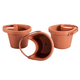 Downspout/Pole Planters, Set of 3, One Size