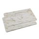 White Marble Burner Covers Set of 2, One Size