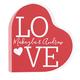 Personalized Acrylic Heart LOVE Keepsake, One Size