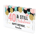 Personalized Acrylic Block Birthday Keepsake, One Size