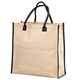 Burlap Tote, One Size