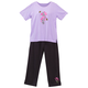 2 Piece Embroidered Floral Capri Set by Sawyer Creek, One Size