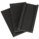 Home Exterior Cleaning Pole Replacement Pads, Set of 3, One Size