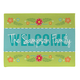 Personalized Welcome Spring Doormat, One Size