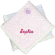 Personalized Pink Emroidered Baby Sherpa 30