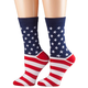 American Flag Socks, One Size