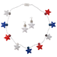 Patriotic Jumbo Necklights and Earrings, Set of 2, One Size