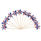 Mini Patriotic Pinwheels, Set of 12