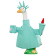 Statue of Liberty Goose Outfit