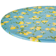 Lemon Tree Elasticized Vinyl Table Cover, One Size