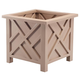 Tan Chippendale Planter, One Size
