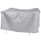 Trellis Pattern Quilted Table Cover Round, 30