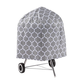 Trellis Pattern Quilted Kettle Style Grill Cover, 23