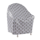 Trellis Pattern Quilted Chair Cover, 33