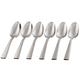 Oneida Nocha Set of 6 Teaspoons, Casual Flatware, One Size