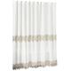 Lillian Macrame Shower Curtain, One Size