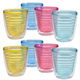 12 oz. Insulated Tumblers Set of 8, One Size