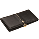 RFID Leather Checkbook Wallet, One Size