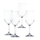 Tritan Set/4 Shatter Proof Wine Glasses, One Size