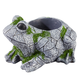 Resin Frog Planter, One Size