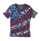 Red, White & Blue Floral T Shirt, One Size