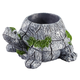 Resin Turtle Planter, One Size