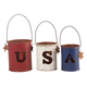 Metal USA Candle Holders by Maple Lane Creations™, One Size