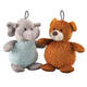Giggling Dog Toys Set of 2, One Size